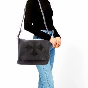 Women's Unisex king Baby Studios leather handbag